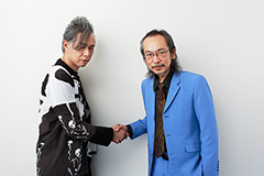 左から大槻ケンヂ、和嶋慎治。