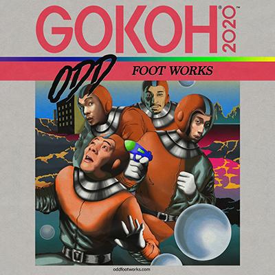 踊Foot Works「GOKOH + KAMISAMA」
