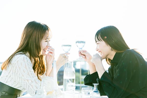大原櫻子×長屋晴子(緑黄色社会)「透ケルトン」インタビュー