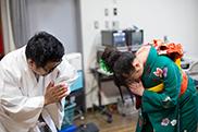 左から藤井ユーイチ、有安杏果。(撮影 / 堀口綾)