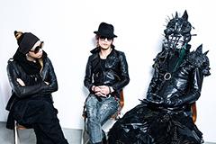 左から逹瑯(ムック)、ガラ(MERRY)、seek(Mix Speaker's,Inc.)。