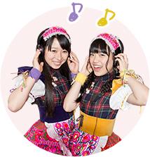 左から大黒柚姫、伊藤千由李。