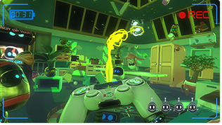 「THE PLAYROOM VR」に収録されている「GHOST HOUSE」。