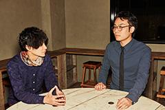 左から、平井拓郎(QOOLAND)、三浦隆一(空想委員会)。