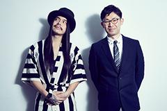 左からKenKen(B)、樋口弘光プロデューサー。