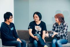 左からRyu☆、sampling masters MEGA、sampling masters AYA。