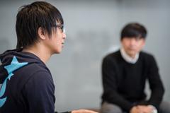 左からRyu☆、Hiroshi Watanabe。