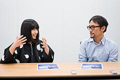 左からさユり、伊藤智彦。