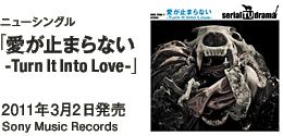 ニューシングル「愛が止まらない-Turn It Into Love-」 / 2011年3月2日発売 / Sony Music Records