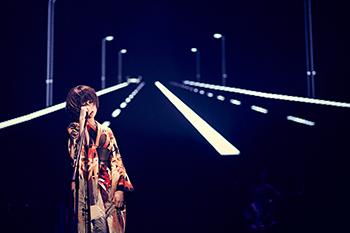 椎名林檎「椎名林檎と彼奴等がゆく 百鬼夜行2015」のワンシーン。