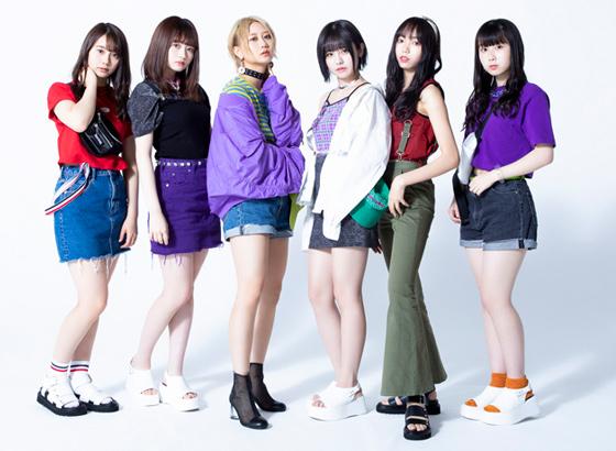 左から松本慈子、江籠裕奈、古畑奈和、佐藤佳穂、野島樺乃、井上瑠夏。
