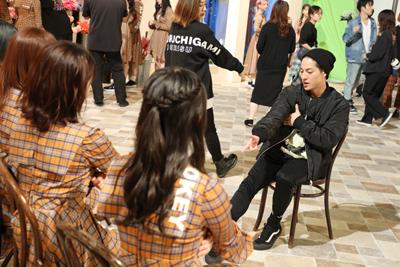 DAICHIは気さくにメンバーと談笑するなど、SKE48とのコラボを楽しんでいた様子だった。