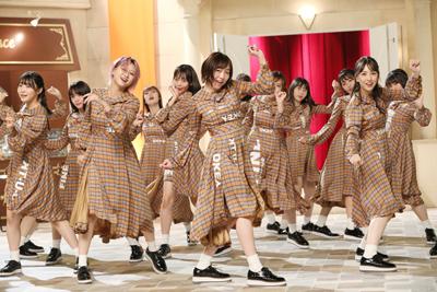 ダンススキルに定評のあるSKE48は、難しいリズムの振り付けもすぐに習得してみせた。