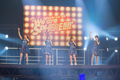 "「LAWSON presents Sphere live tour 2017 ""We are SPHERE!!!!""」神奈川・神奈川県民ホール公演の様子。"