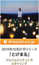 2010年10月27日リリース「とげまる」 / アルバムジャケットのスタイリング