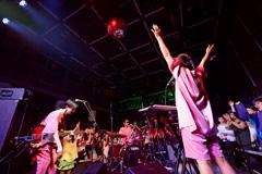 昨年9月に行われた「Spotify Early Noise Night Vol.3」に出演したCHAI。(写真提供:スポティファイジャパン)