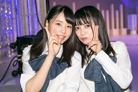 左から瀧野由美子、田中皓子。