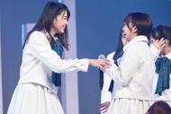 左から瀧野由美子、甲斐心愛。
