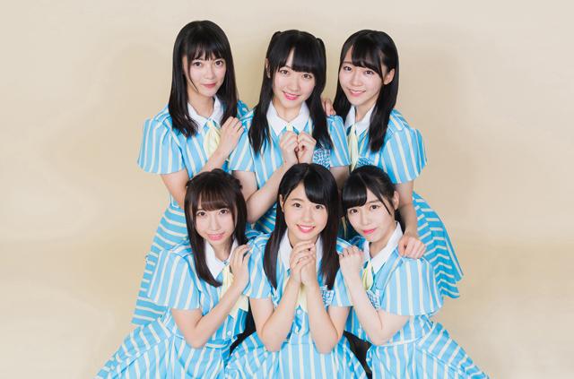 上段左から田中皓子、石田千穂、土路生優里、下段左から薮下楓、瀧野由美子、岩田陽菜。