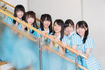 左から田中皓子、薮下楓、石田千穂、瀧野由美子、岩田陽菜、土路生優里。