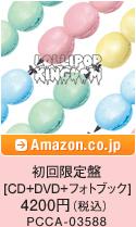 初回限定盤 [CD+DVD+フォトブック] 4200円(税込)PCCA-03588 / Amazon.co.jpへ