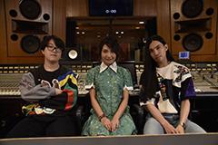 左からAvec Avec、井上苑子、Seiho。