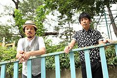 左から常田真太郎、大橋卓弥。
