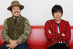 左から常田真太郎(Key, Cho)、大橋卓弥(Vo, G)。