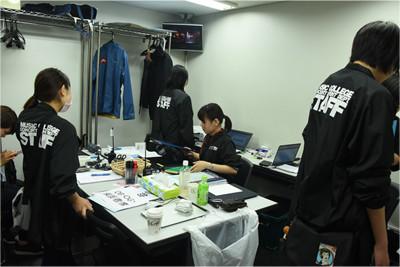 イベントに関するすべての情報を集約する運営本部。