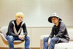 左から茂木伸太郎、kz(livetune)。