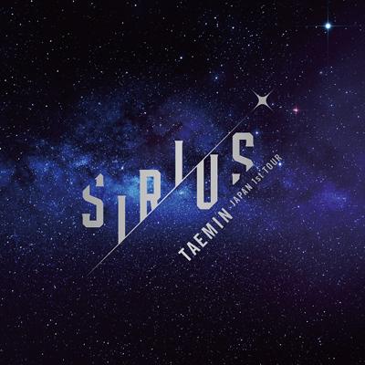 テミン「TAEMIN Japan 1st TOUR ~SIRIUS~」初回限定盤Blu-ray
