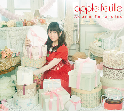 竹達彩奈「apple feuille」CD+Blu-ray盤