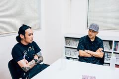 左から伊藤雄和(OLEDICKFOGGY)、ILL-BOSSTINO(THA BLUE HERB)。