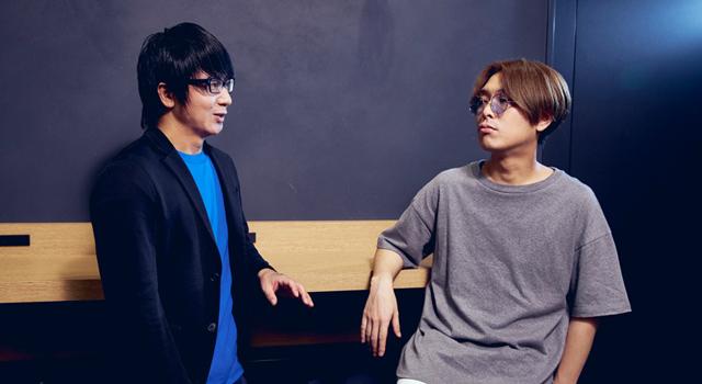 左からRyu☆、kors k。