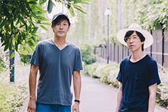 左から荒井岳史(the band apart)、ホリエアツシ(ストレイテナー)。