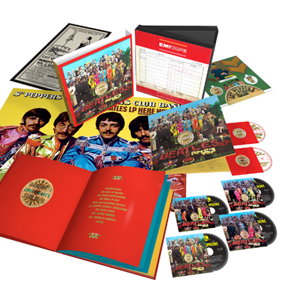The Beatles「Sgt. Pepper's Lonely Hearts Club Band」スーパー・デラックス・ボックス・セット(完全生産限定盤)