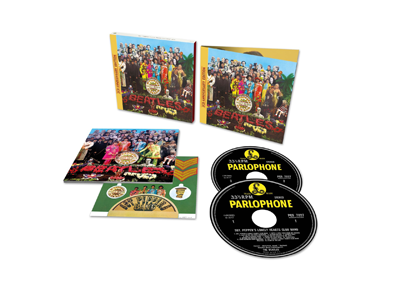 The Beatles「Sgt. Pepper's Lonely Hearts Club Band」2CD