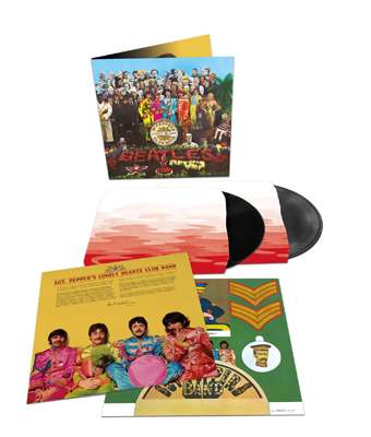 The Beatles「Sgt. Pepper's Lonely Hearts Club Band」2LP(直輸入盤仕様)