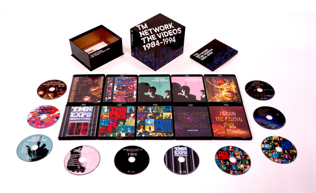 TM NETWORK「TM NETWORK THE VIDEOS 1984-1994」