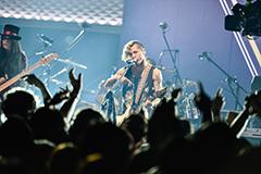 「TOKYO BEAT FLICK」ライブの様子。 ©NTV