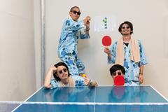 卓球を楽しんだTOKYO HEALTH CLUB。