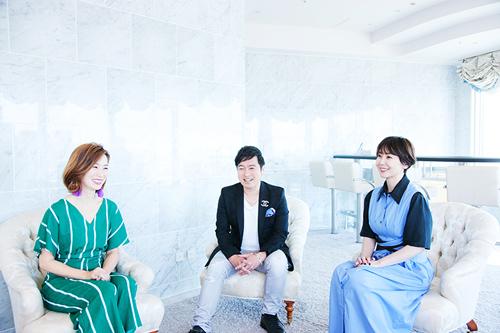 左からchihiRo(JiLL-Decoy association)、黒沢薫(ゴスペラーズ)、土岐麻子。