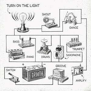 TRI4TH「Turn On The Light」通常盤