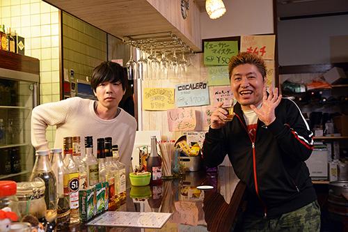 左から吉田靖直(Vo)、吉田豪。
