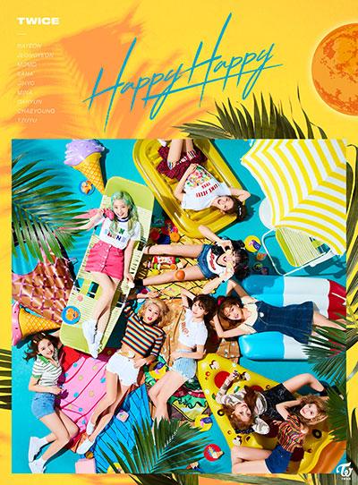 TWICE「HAPPY HAPPY」初回限定盤A