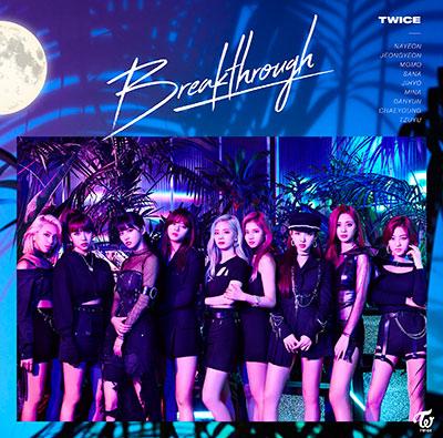 TWICE「Breakthrough」通常盤
