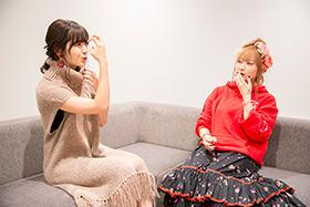 左から鈴木愛理、理姫。