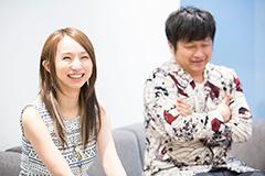 左からF チョッパーKOGA(Gacharic Spin)、大谷ノブ彦(ダイノジ)。