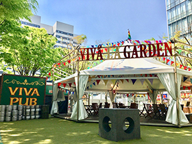 「VIVA LA GARDEN」の様子。©︎VIVA LA ROCK All Rights Reserved