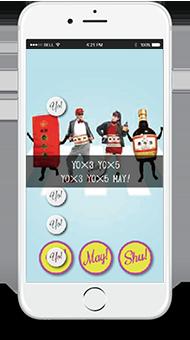 「胃腸de上々!」ゲーム画面
